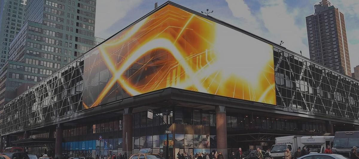 Транслируйте яркую рекламу на ваших торговых центрах!