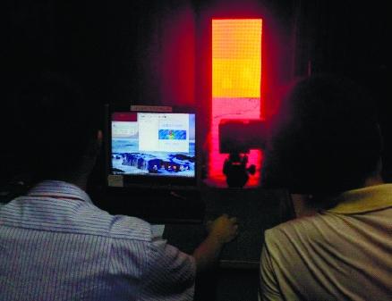 Калибровка цвета светодиодного экрана
